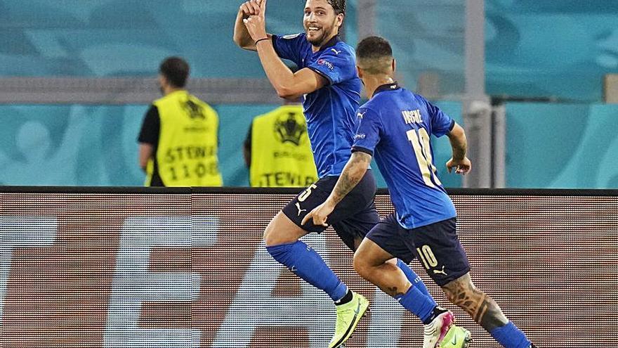 Itàlia, primer equip als vuitens