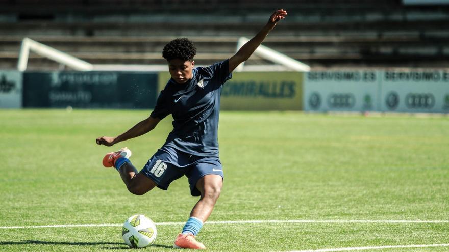 Sonia Perlaza, habilidad y gol con sello colombiano para el Cacereño Femenino