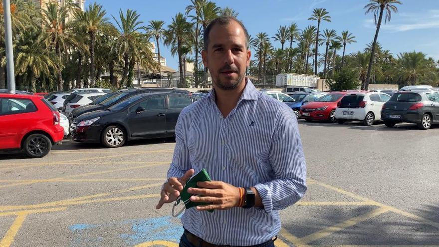 """El PP considera """"una vergüenza"""" que se convierta Candalix en un aparcamiento de pago"""