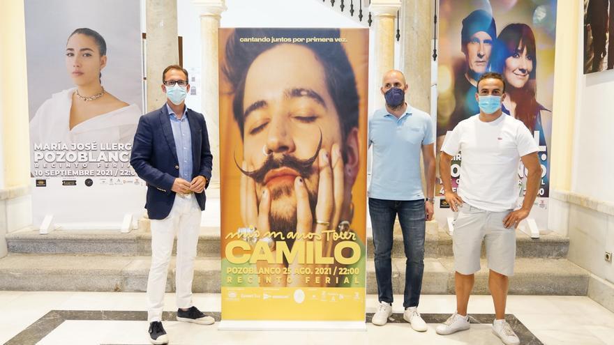 El cantante Camilo se suma al Slow Music de Pozoblanco 2021