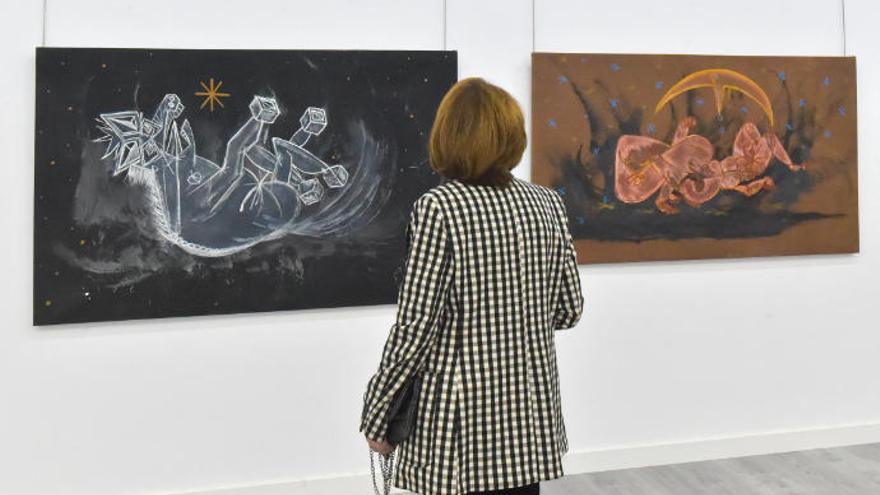 La exposición 'Colectiva de invierno', en el Club La Provincia