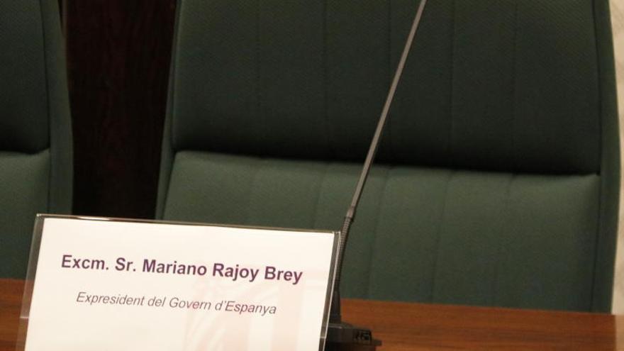 Rajoy planta el Parlament i no compareix a la comissió d'investigació de 155