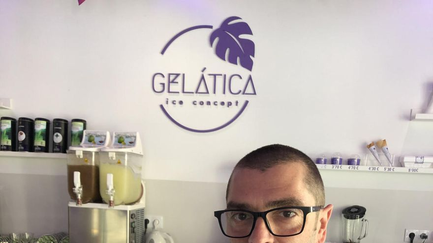 Gelática ice concept