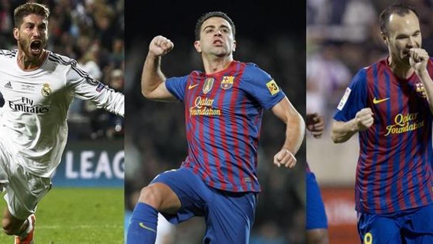 Casillas, Puyol, Ramos, Piqué, Xavi e Iniesta, en el once del siglo para la UEFA