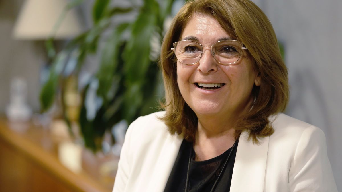Mabel Campuzano recibió a LA OPINIÓN en su despacho de la Consejería