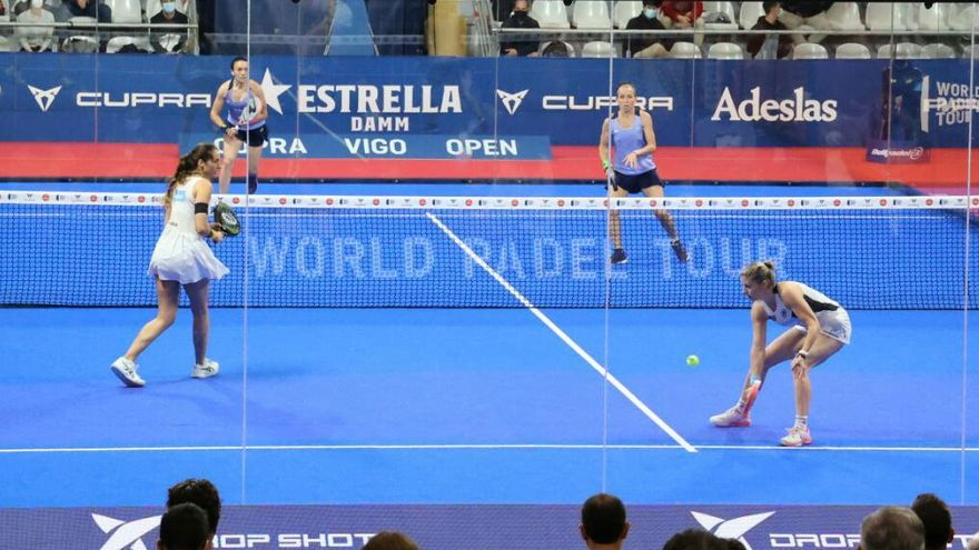 Virginia Riera y Patricia Llaguno remontan y triunfan en Vigo