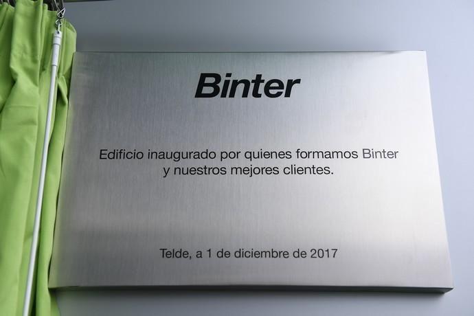 INAUGURACION NUEVA SEDE DE BINTER