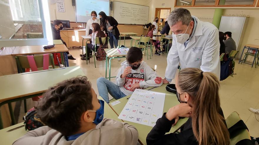 Quirónsalud Málaga y la Fundación Quirónsalud fomentan hábitos saludables en institutos
