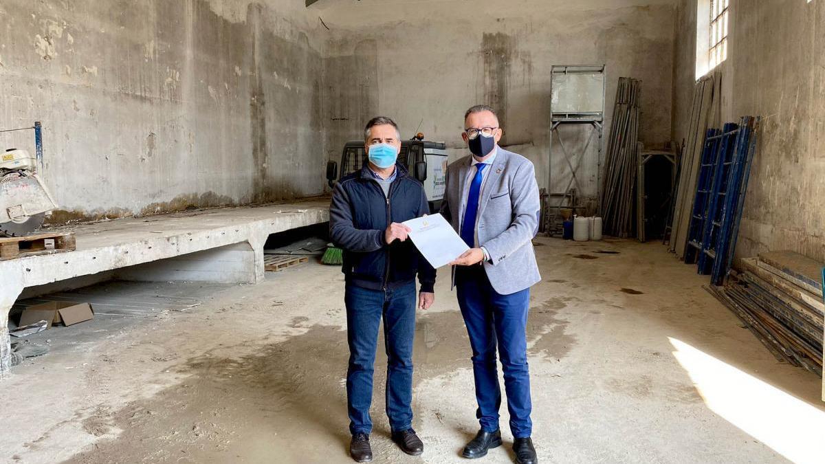 La Diputación financia la rehabilitación de una antigua cooperativa aceitera de Nueva Carteya