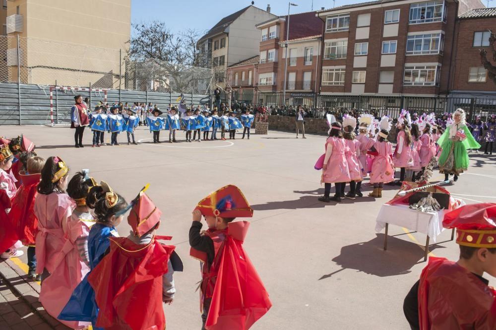 Carnaval en el colegio Las Eras de Benavente.