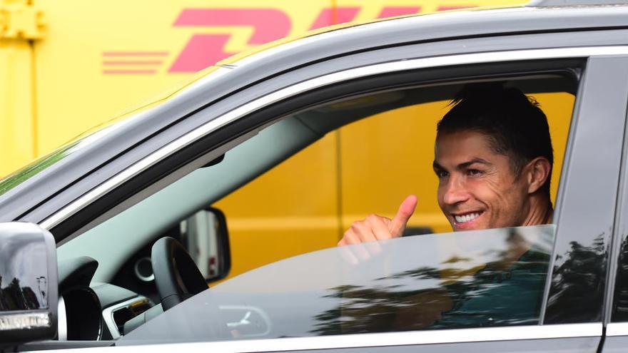 Cristiano Ronaldo vuelve a entrenar en Turín tras dos meses y medio