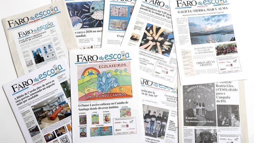 ¡Los periódicos escolares ya están en FARO!