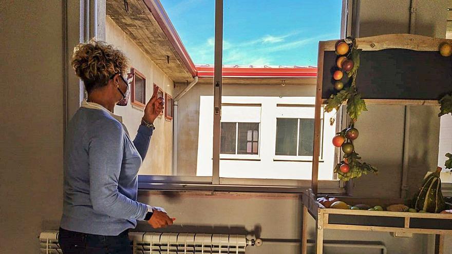 Concluyen las reparaciones en el colegio Turiellos, el que más crece en Langreo
