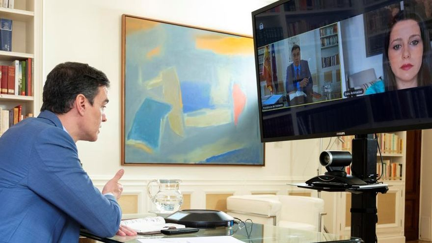 El Gobierno se vuelca para lograr el apoyo de Cs y PNV al estado de alarma