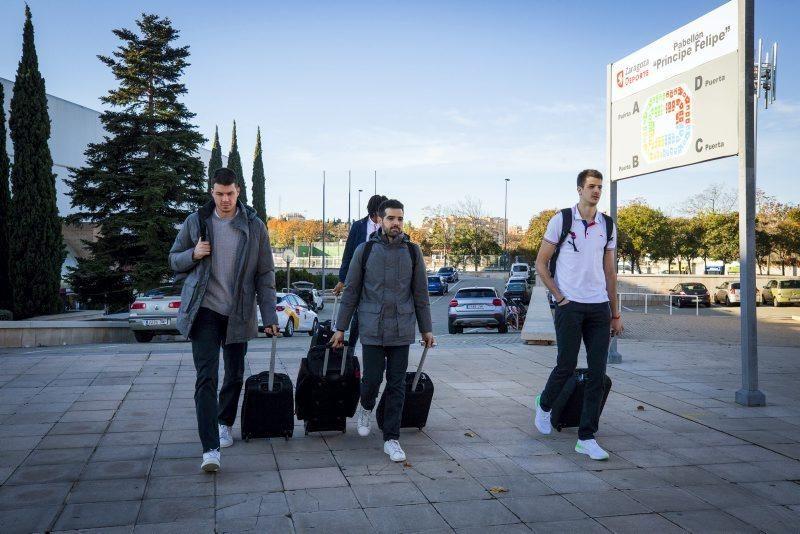 Salida del Casademont hacia Grecia