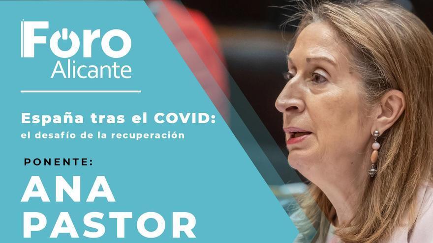 Foro Alicante con Ana Pastor