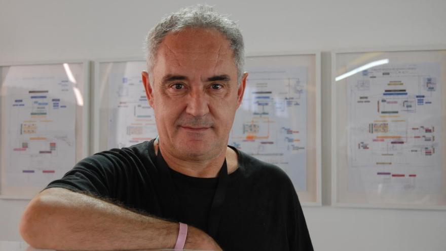 Ferran Adrià: «El meu somni era ser com Johan Cruyff»