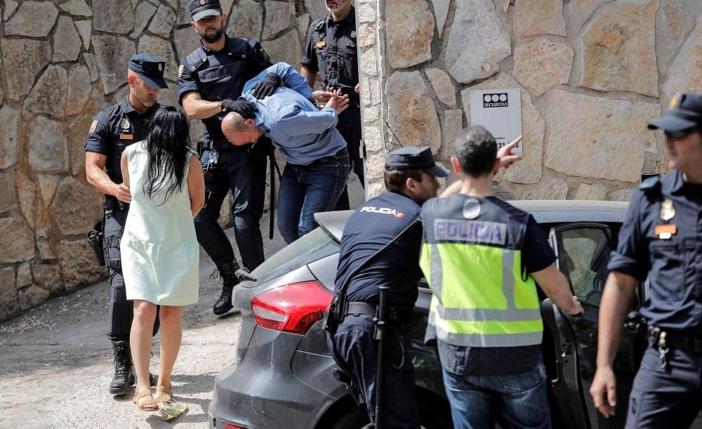 Golpe en València a las mafias rusas con casi 40 detenidos