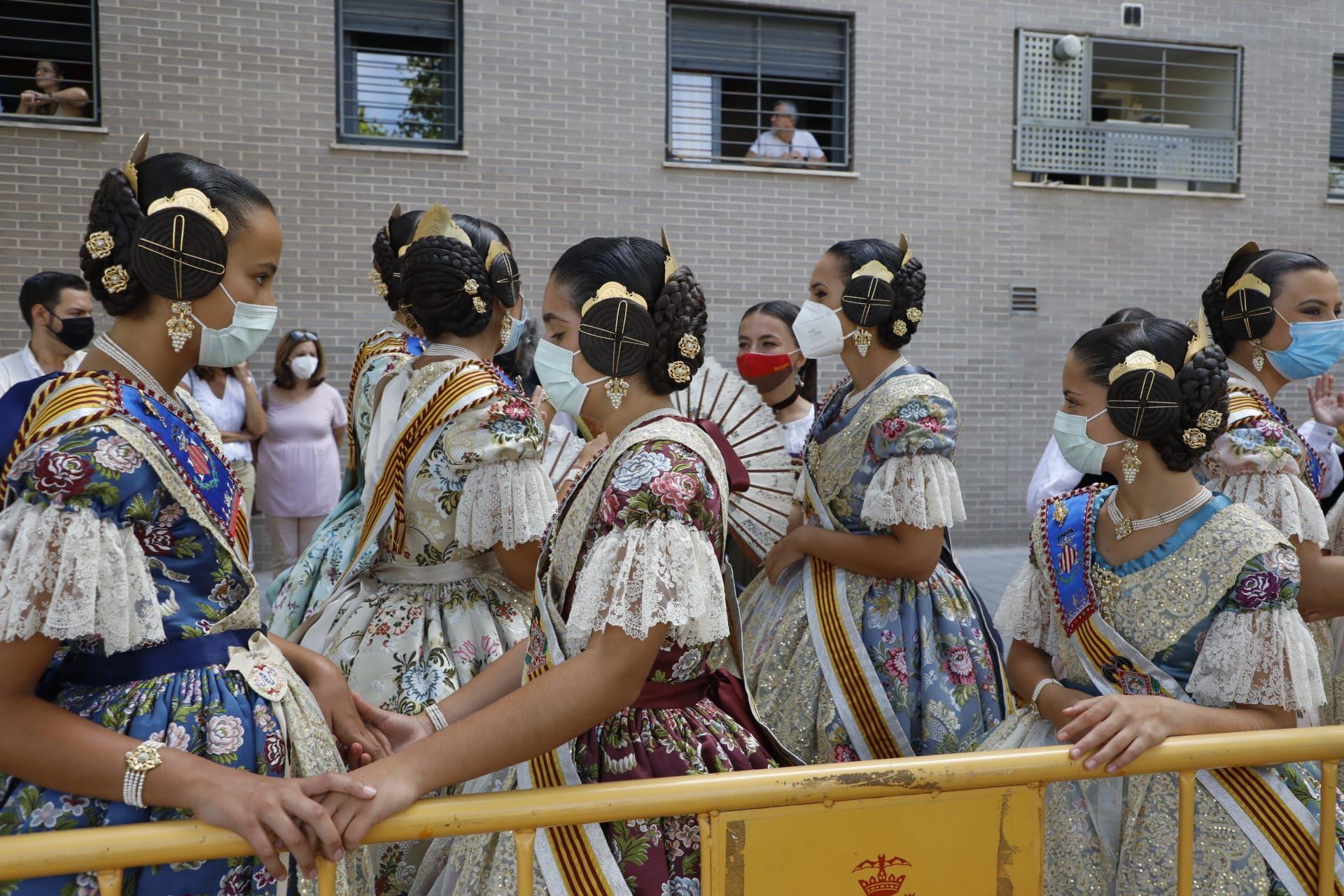 Vuelve a disfrutar de la 'mascletà' de hoy en Benicalap