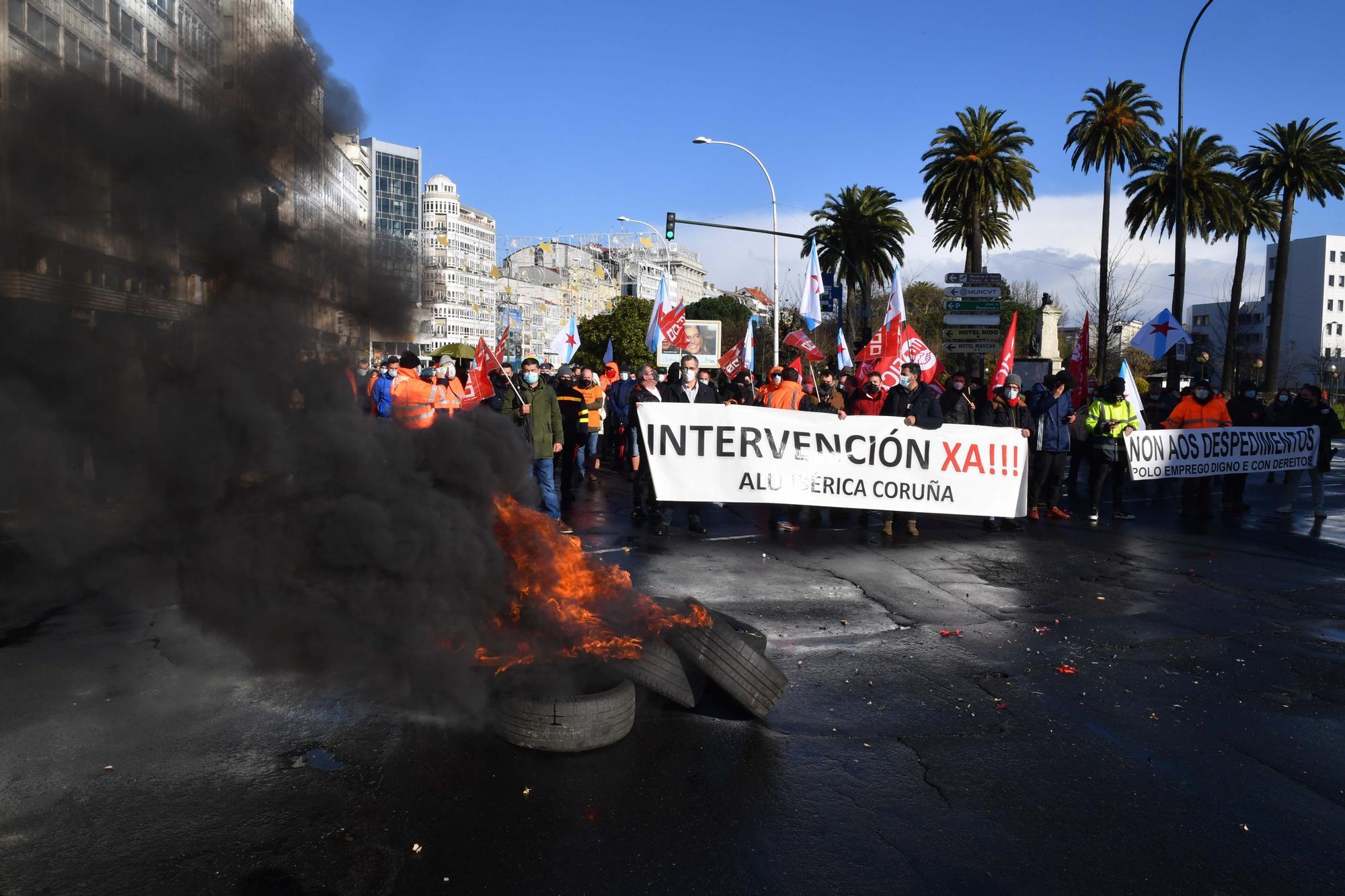La plantilla de Alu Ibérica pide a la SEPI una intervención hasta que haya un fallo judicial