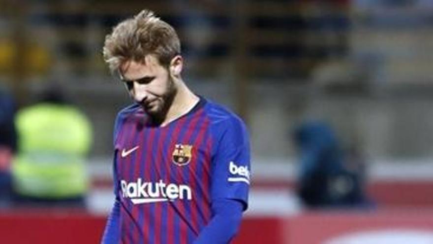 Sergi Samper rescinde su contrato con el Barcelona