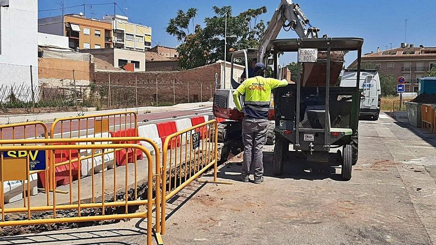 Meliana destina 47.617 euros a una nova connexió a la depuradora d'Alboraia