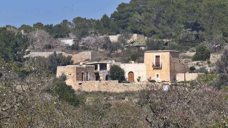 La explotación turística de casas payesas afectará a más de 6.200 plazas en Ibiza
