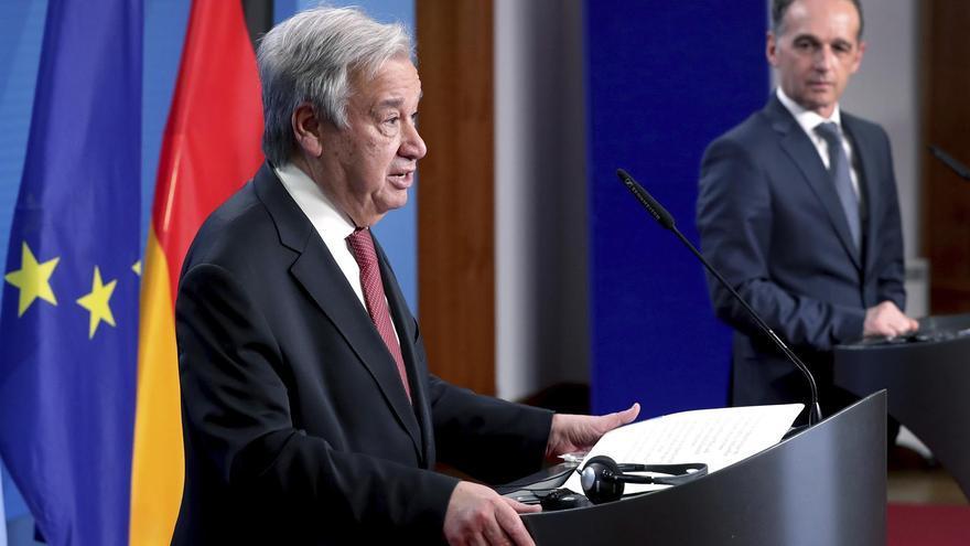 """Guterres ve """"algo de luz al final del túnel"""" tras un año del inicio de la crisis del coronavirus"""