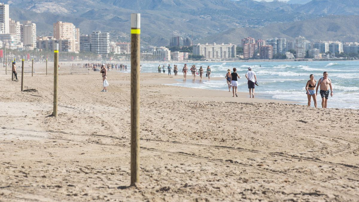 El tiempo en Alicante: el verano climático y el primer día de playa arranca primaveral