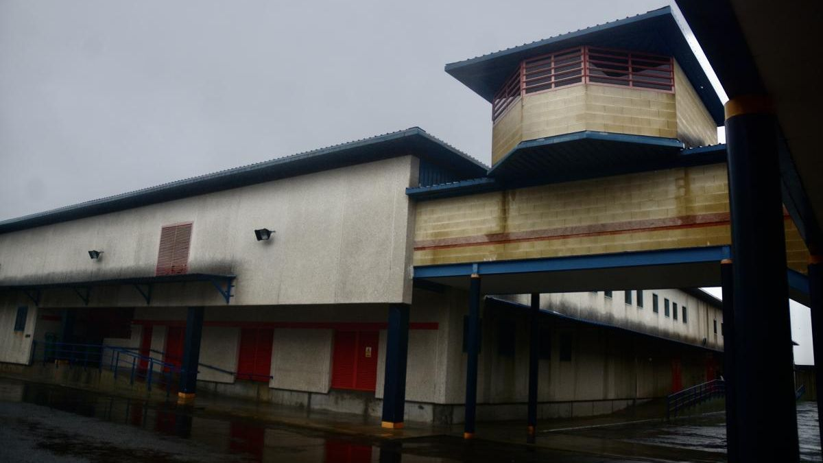 Módulos del centro penitenciario de A Lama. // R. Vázquez