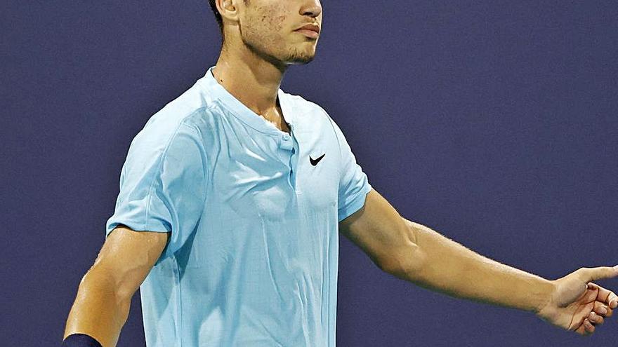 Alcaraz pierde cinco de los seis últimos partidos que ha disputado en la ATP