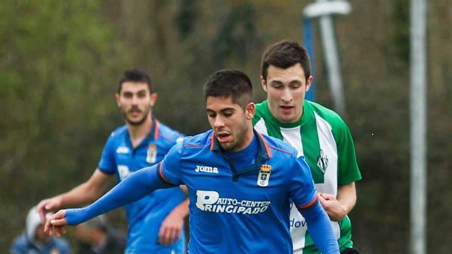 """David González espera marcar otra vez al Oviedo: """"Ojalá meta"""""""