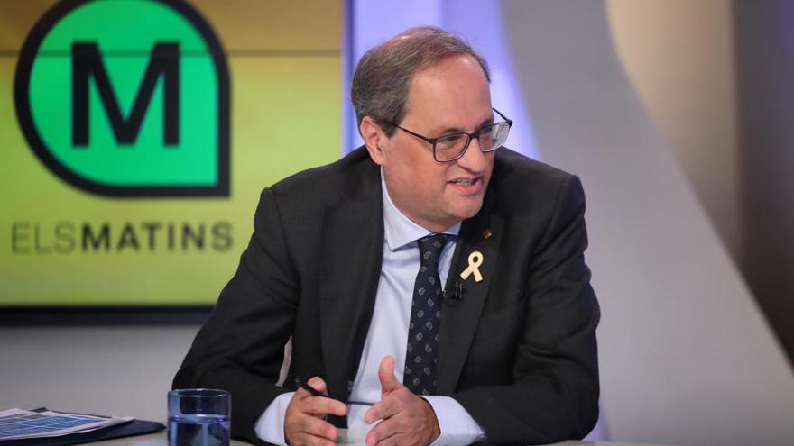 Torra demana a Sánchez una «reunió urgent» per parlar del judici i l'informe de l'ONU