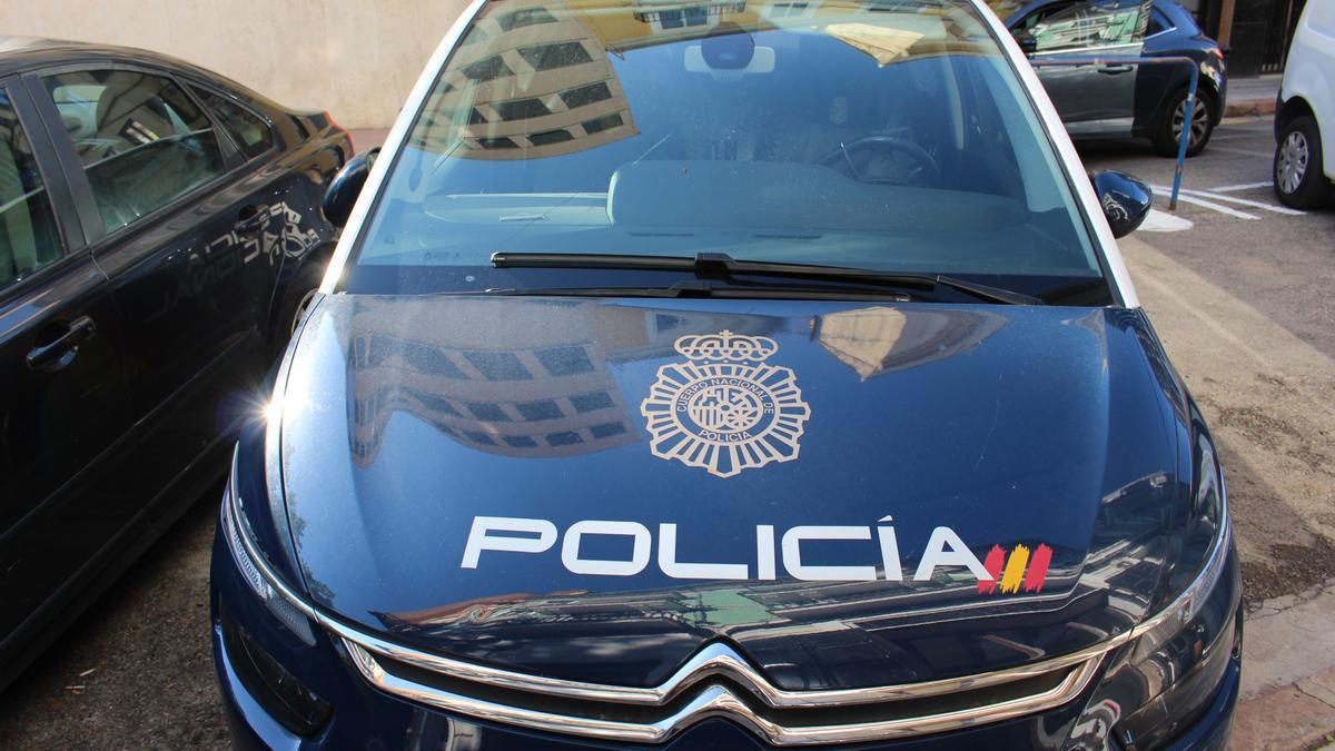 Imagen de recurso de un vehículo policial