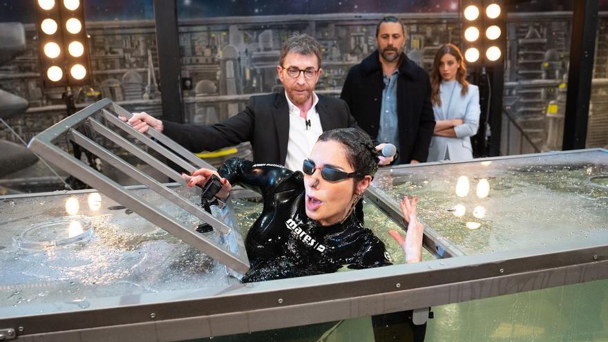 """El reto más angustioso de Pilar Rubio en 'El Hormiguero': """"Necesito respirar"""""""