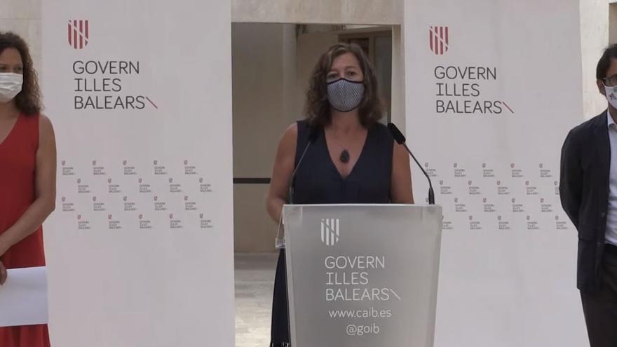 Armengol asegura que Baleares ha recuperado dos de cada tres turistas de 2019