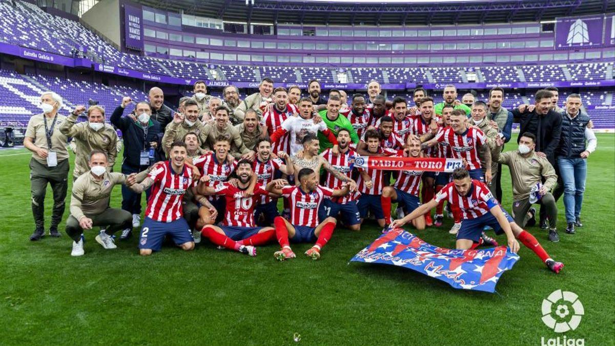 El conjunt de Cholo Simeone ha conquerit el títol de LaLiga 2020/2021