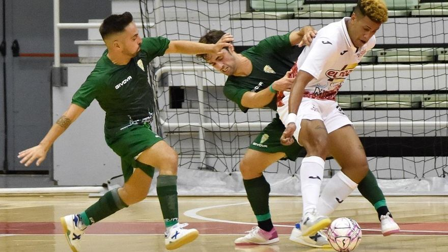 El Córdoba Futsal enseña su poder en Murcia
