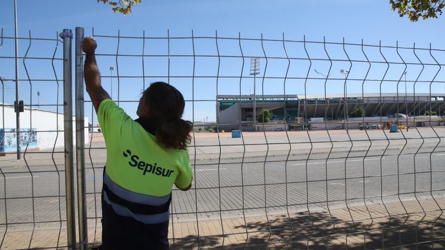 La reforma del recinto ferial de El Arenal arranca tras dos años de espera