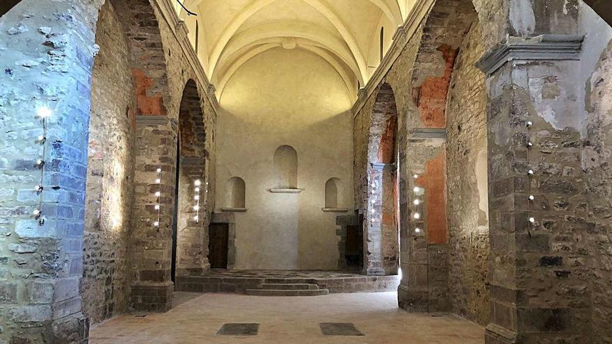 Fonollosa estrena un espai polivalent a l'església de les Torres de Fals