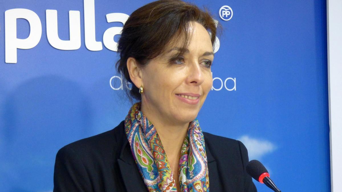 María Luisa Ceballos, portavoz del PP en la Diputación de Córdoba.