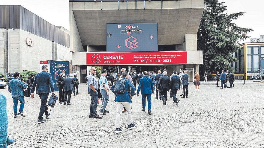 La feria Cersaie 2021 recibió el 56 % de los visitantes de la edición de 2019