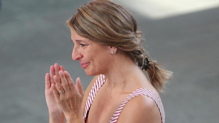 La salida de Yolanda Díaz de IU agudiza la crisis de Unidas Podemos