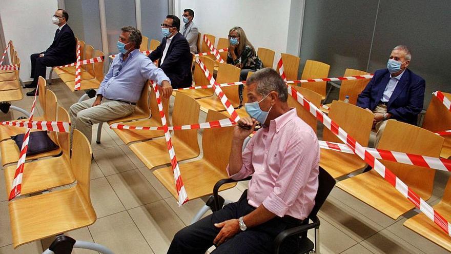 El caso del PGOU de Alicante se salda con una multa para Alperi y Ortiz
