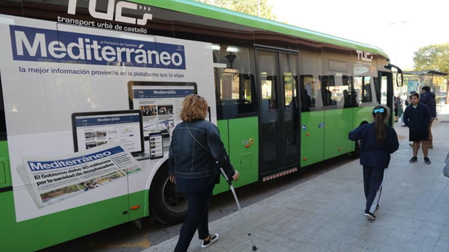 'Mediterráneo' se sube a los autobuses de Castellón