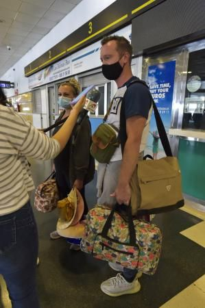 Llegada de turistas escandinavos