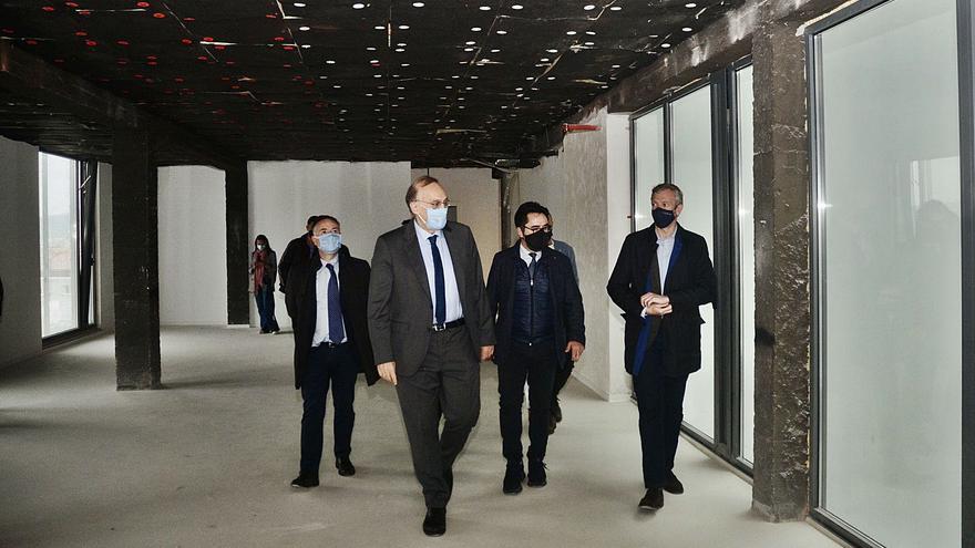 La UVigo adapta los 1.200 m2 de Benito Corbal para implantar sus planes europeos y el grado de Diseño