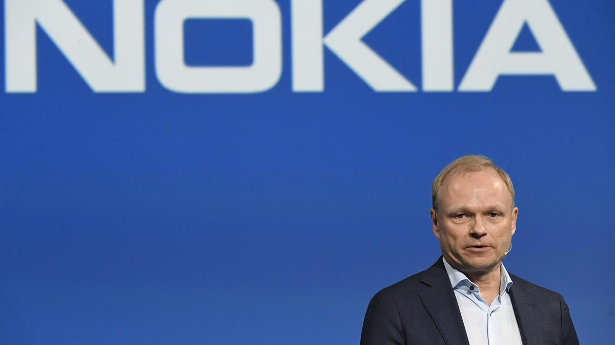 El consejero delegado de Nokia, Pekka Lundmark.