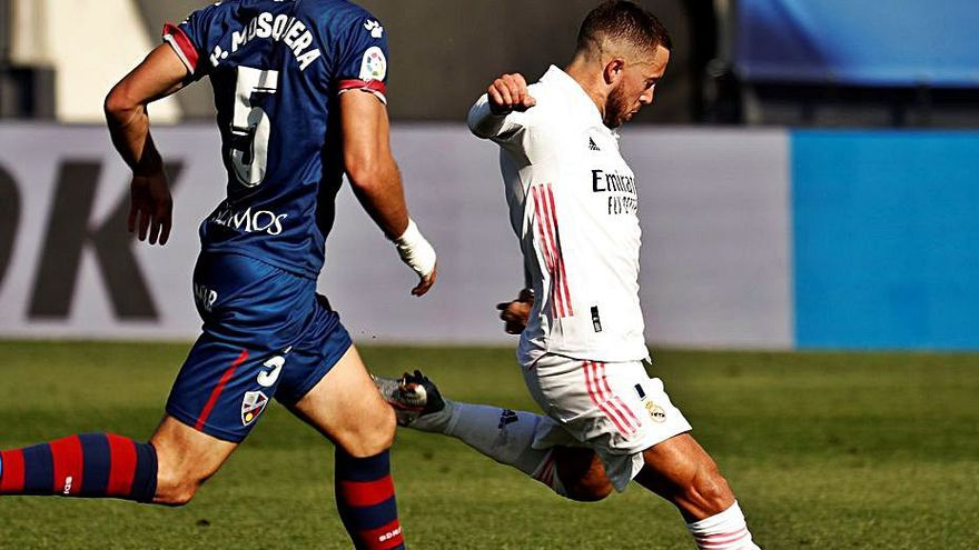 Hazard hace despertar la pegada del Real Madrid