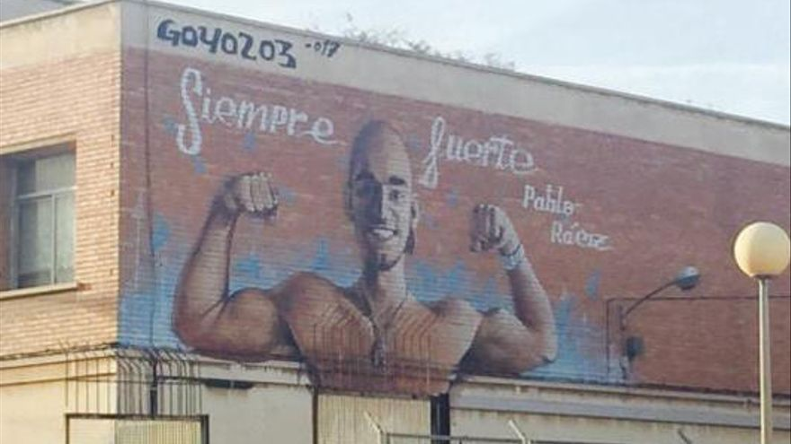 Un mural per a Pablo Ráez